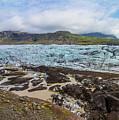 Glacier, Vatnajokull National Park, Iceland by Venetia Featherstone-Witty
