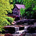 Glade Creek Grist Mill 004 by George Bostian