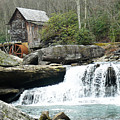 Glade Creek Grist Mill In Color by Jack Paolini