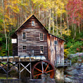 Glade Creek Grist Mill by Lana Trussell
