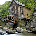 Glade Creek Grist Mill Located In Babcock State Park West Virginia by Brendan Reals