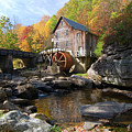 Glade Creek Grist Mill by Steve Stuller