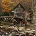 Glade Grist Mill In Autumn by Ola Allen