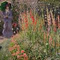 Gladioli by Claude Monet