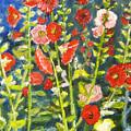 Gladiolus, 11x14, Oil, '07 by Lac Buffamonti