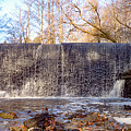 Gladwyne - Dove Lake Waterfall Panorama by Bill Cannon