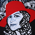 Glafira Rosales In The Red Hat by Yelena Tylkina