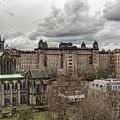 Glasgow Cathedral And Victoria Infirmary by Antony McAulay
