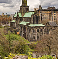 Glasgow Cathedral From The Necropolis by Antony McAulay