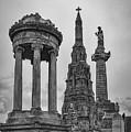 Glasgow Necropolis Graveyard Memorials by Antony McAulay