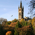 Glasgow University by Liz Leyden