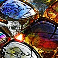 Glass Abstract 2 by Sarah Loft