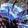 Glass Abstract 219 by Sarah Loft