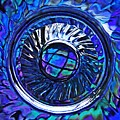 Glass Abstract 480 by Sarah Loft