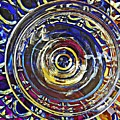 Glass Abstract 587 by Sarah Loft