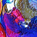 Glass Abstract 609 by Sarah Loft