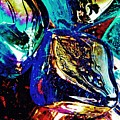 Glass Abstract 687 by Sarah Loft
