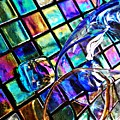 Glass Abstract 696 by Sarah Loft