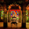 Glass And Mirror Room City Palace Udaipur by Doug Matthews
