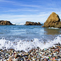 Glass Beach, Fort Bragg California by Charles Wollertz