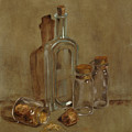 Glass Bottles by Betty Stevens