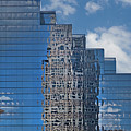 Glass Building Reflections by Jan Stittleburg