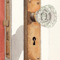 Glass Door Knob And Passage Lock Revisited by Ken Powers