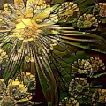 Glass Marigold by Amanda Moore