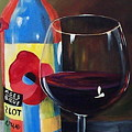 Glass Of Merlot   by Torrie Smiley