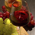 Red And White Wine by Anastasy Yarmolovich