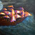 Pirate Ship by Ken Figurski