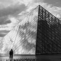 Glass Pyramid. Louvre. Paris.  by Bernard Jaubert