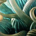 Glass Sculpture Abstract 4596 Dp_2 by Steven Ward