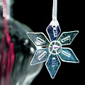 Glass Star Decoration by Helen Northcott