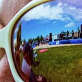 Glasses Reflect by Tyson Kinnison