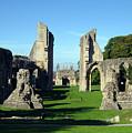 Glastonbury Abbey 1 by Kurt Van Wagner