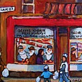 Glatts Kosher Meatmarket And Tailor Shop by Carole Spandau