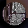 Glazed Chocolate Abstract by Judi Suni Hall