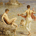 Gleaming Waters by Henry Scott Tuke