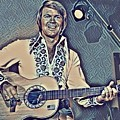 Glen Campbell Abstract by Pd