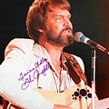 Glen Campbell Autographed Poster by Pd