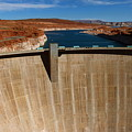 Glen Canyon Dam And Lake Powell by Christiane Schulze Art And Photography