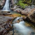 Glen Ellis Falls Autumn by Bill Wakeley