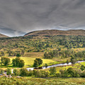Glen Lyon Scotland by Chris Thaxter