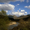 Glen Strontian And The River Strontian Sunart Western Highlands Scotland by Michael Walters