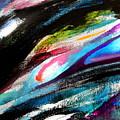 Glimpse Pink Fish by Expressionistart studio Priscilla Batzell
