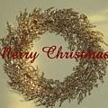 Glittery Wreath by Ellen O'Reilly