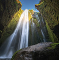 Gljufrabui Iceland Waterfall by Michael Ver Sprill