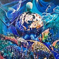 Planet  Earth - Our Family Tree by Sigrid Tune
