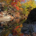 Glorious Connecticut Fall Foliage by Juergen Roth
